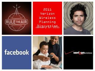 2011  Verizon Wireless Planning Discussion