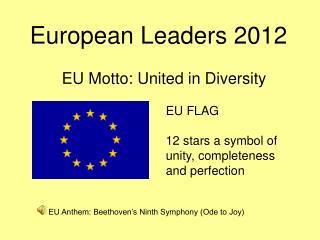 European  Leaders  2012