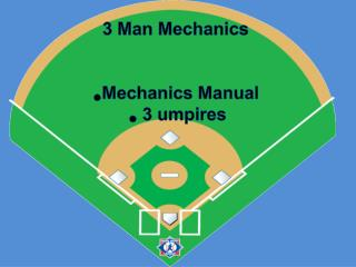 3 Man Mechanics Mechanics Manual  3 umpires