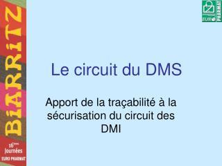 Le circuit du DMS