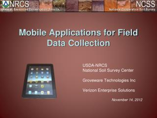 Mobile Applications for Field Data Collection