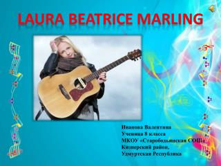 Laura Beatrice Marling