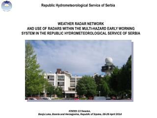 Republic Hydrometeorological Service of Serbia