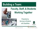 Building a Team PowerPoint Presentation