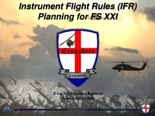 Instrument Flight Rules (IFR) Planning for FS XXI