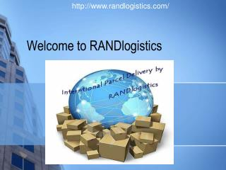 Trust on the name of RANDlogistics for Parcel Service
