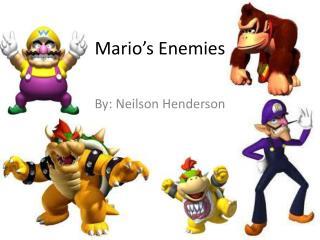 Mario's Enemies