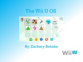 The Wii U OS