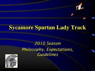 Sycamore Spartan Lady Track