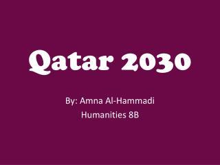 Qatar 2030