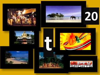 PTV SPORTS Presents ICC T20 World Cup 2012, Sri Lanka