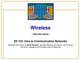 Wireless - Yahel Ben-David -