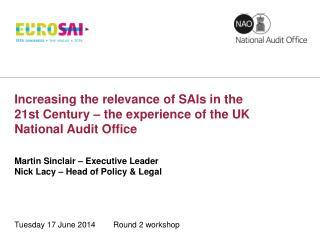 Tuesday 17 June 2014        Round 2 workshop