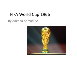 FIFA World Cup 1966