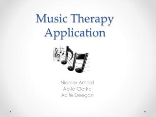 Music Therapy Application