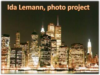 Ida Lemann, photo project