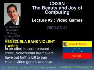 Venezuela bans violent games