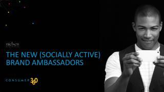 The new ( socialLY  active) Brand Ambassadors