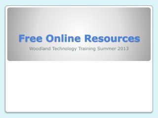 Free Online Resources