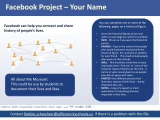 Facebook Project – Your Name