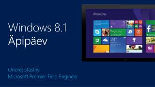 Windows 8.1  Äpipäev