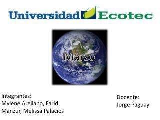 Docente: Jorge  Paguay