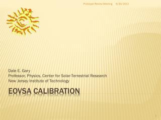 EOVSA  CAlibration