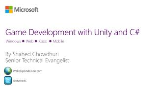 Game Development with Unity and C#