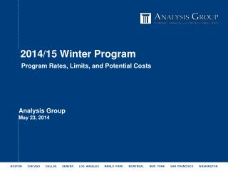 2014/15 Winter Program