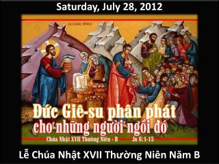 Saturday,  July 28,  2012