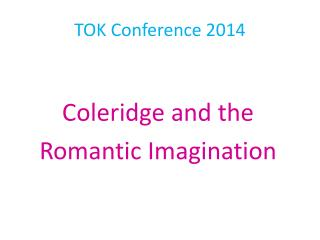 TOK Conference 2014