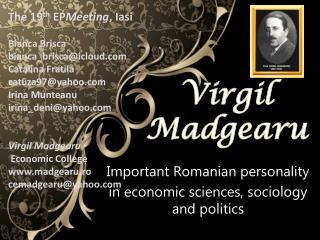 Virgil  Madgearu
