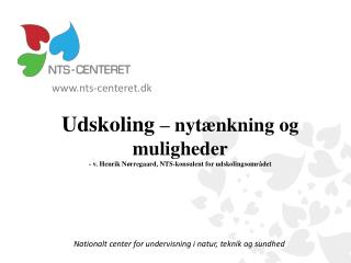 Nationalt center for undervisning i natur, teknik og sundhed