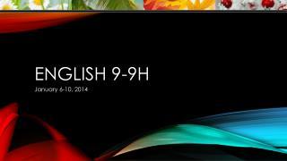 English  9-9H