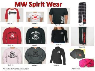 MW Spirit Wear