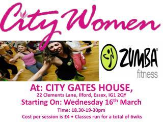 A t : City  gates  house,