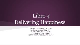 Libro 4 Delivering  Happiness