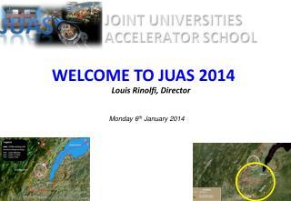 WELCOME TO JUAS  2014