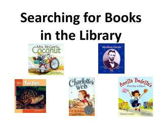 Searching for Books in the Library