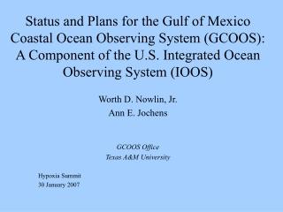 OBSERVATION OF COASTAL ECOSYSTEM