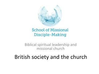 British society and the church
