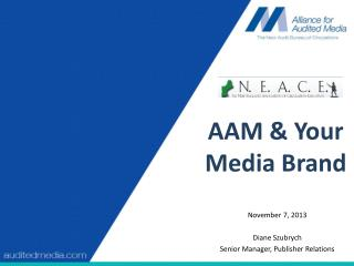 AAM & Your Media Brand
