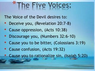 The Five Voices: