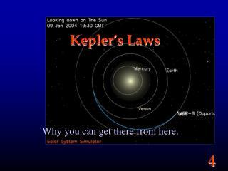 Kepler�s Laws