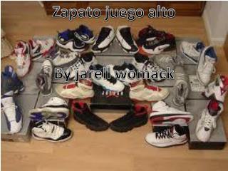Zapato juego  alto By  jarell womack