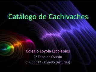 Catálogo de Cachivaches