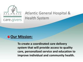 Atlantic General Hospital & Health System