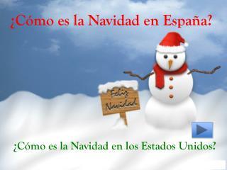 � C�mo es la Navidad en Espa�a?