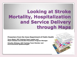Looking at Stroke Mortality, Hospitalization and Service Delivery through Maps