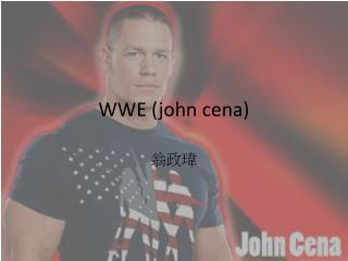WWE (john  cena )